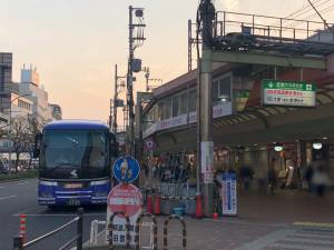 三宮 伊丹空港・関西空港行リムジンバス乗り場